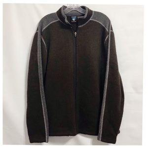 KUHL Men's Alfpaca Fleece Full Zip Jacket Size LG
